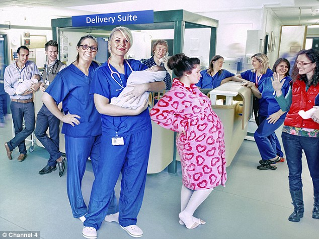 New series: The new series of One Born Every Minute was filmed at Southmead Hospital in Bristol