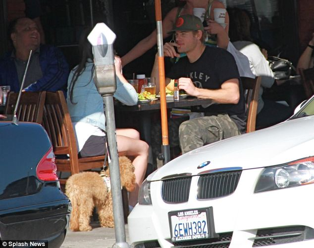 Blind Date: Trevor has admitted that he's been dating. He was spotted lunching with a brunette at King's Road Cafe in Hollywood during the trial.  But the actor has tweeted how much he misses Kerry
