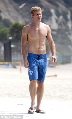 9021 OH: Life's a beach for the TV star. Trevor was always a fan fave--and is there any question why!
