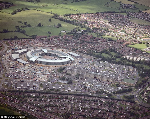 Claim: Cheltenham-based UK spy agency GCHQ has reportedly harvested webcam images - including sexually explicit material - of millions of internet users