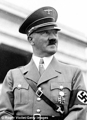 Adolf Hitler during his time as head of state and Fuhrer of the Nazi Party