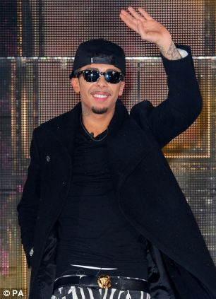 Charged: Dappy was allegedly involved in an assault outside Chicago's nightclub in Essex