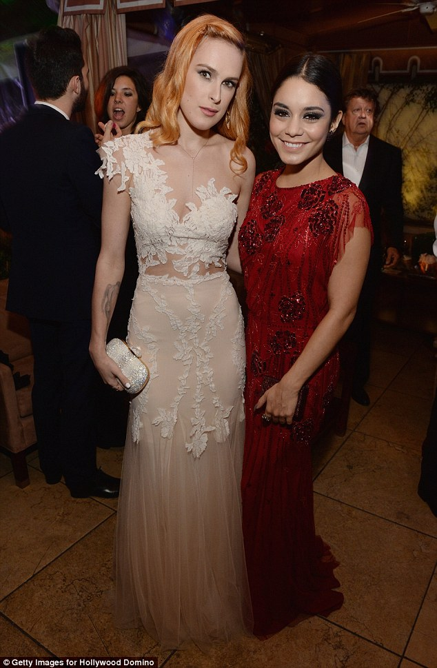 Side by side: Vanessa Hudgens was joined by Rumer Willis at the annual event on Thursday evening