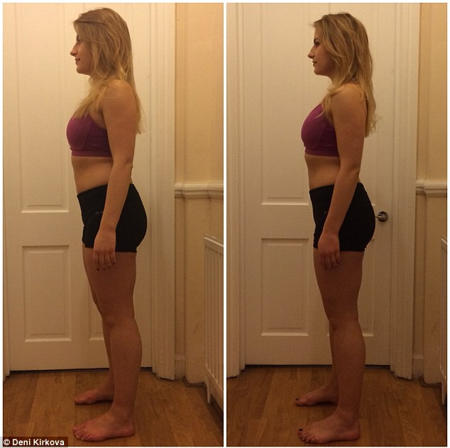 """In just four weeks our ft 4"""" reporter lost 10lbs through a special diet and exercise plan"""