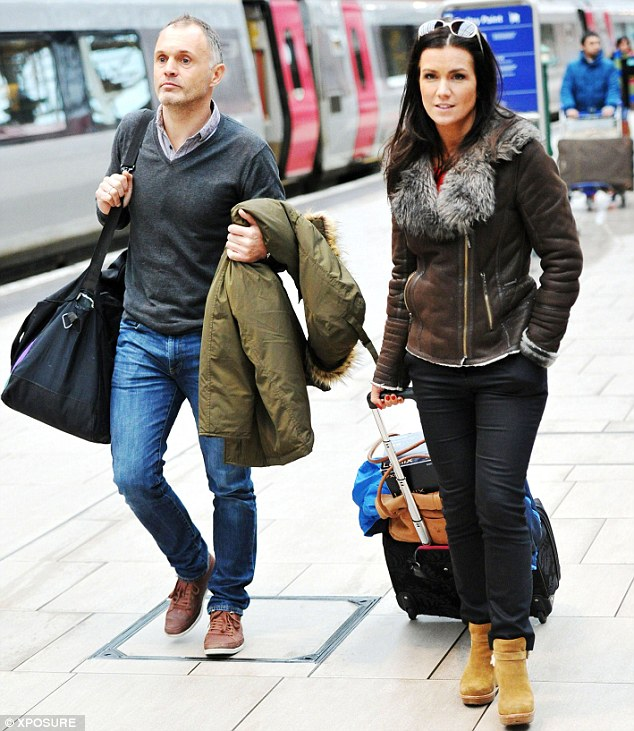 Split: Susanna Reid and her partner Dominic Cotton have ended their relationship