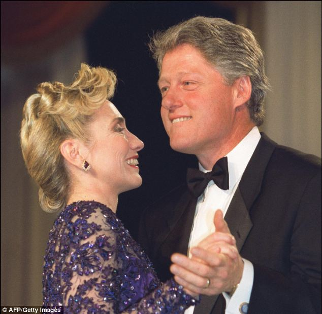 Those were the days: Hillary Clinton's advisers wanted her to spearhead a love-fest media tour including special attention to the anniversary of her marriage to her philandering husband
