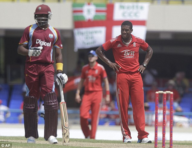 Out of sync: England's bowlers, such as Chris Jordan, struggled in Antigua