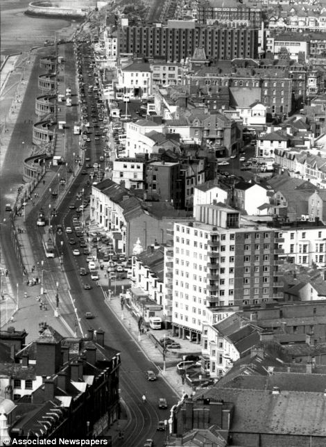 Hotels, fast-food joints, souvenir shops and amusement arcades carried on a brisk trade during Blackpool's glory period