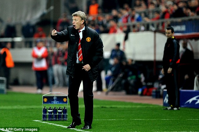 Under pressure: United boss David Moyes has had a poor start to his reign at Old Trafford