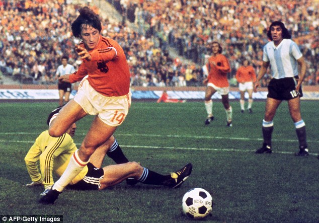 Dutch masters: The great Holland teams of the 1970s were dominated by Ajax players