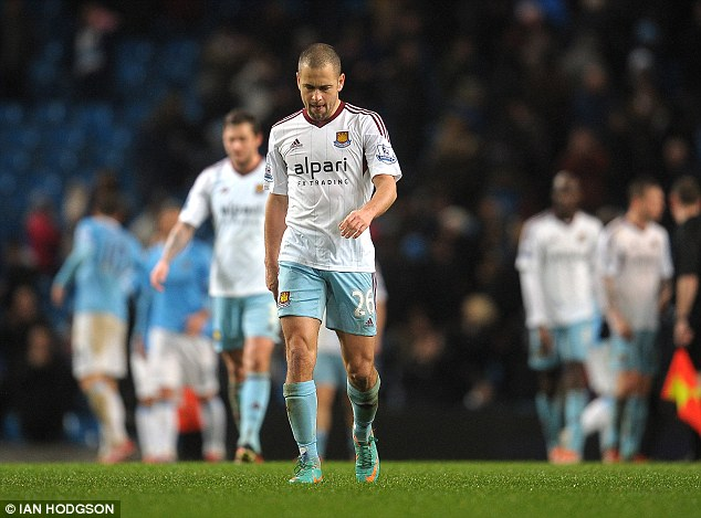 Going to America: West Ham's Joe Cole could end his career in the Premier League and join the MLS