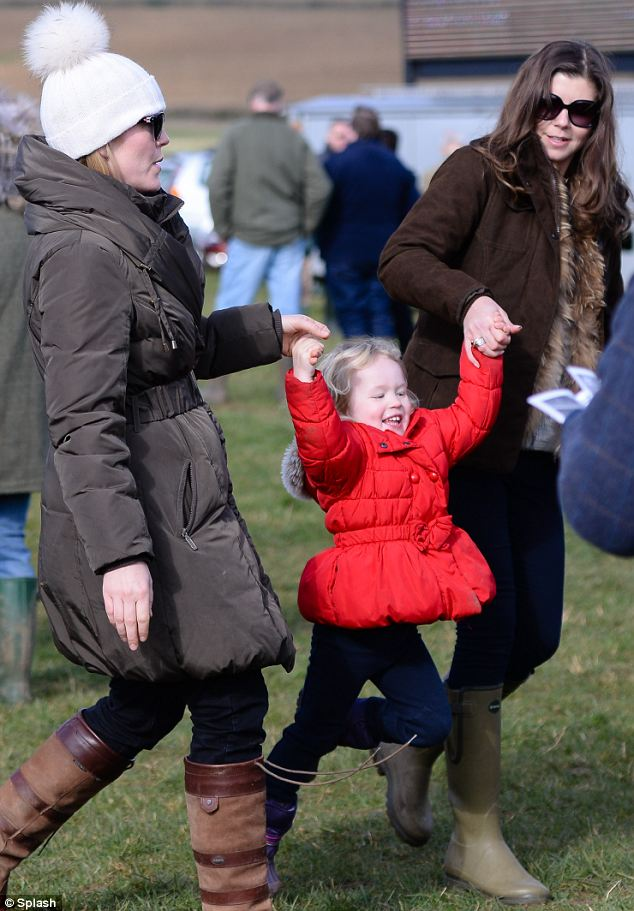 Weeeeeee! Savannah shows off her jumping skills