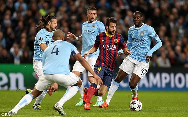 Nurtured: Barcelona's former Arsenal midfielder Cesc Fabregas has also come through the system