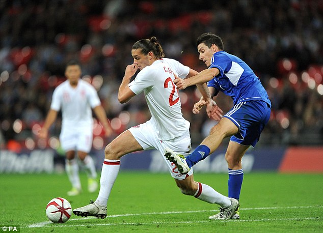 Tall order: Carroll has not played a game for England since 2012