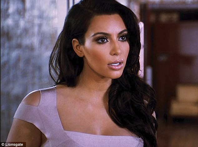 Simply the worst! Kim Kardashian in Tyler Perry's Temptation - that has earned her a Razzie Awards for Worst Supporting Actress