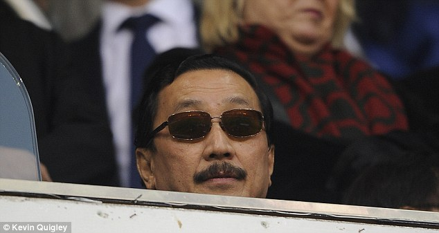 Spectator: Controversial Cardiff owner Vincent Tan was at White Hart Lane to watch the defeat