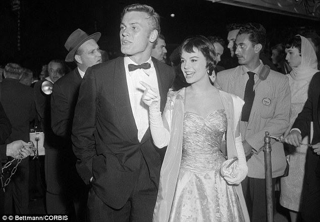 22 Mar 1956 --- Tab Hunter and Natalie Wood Arriving at Academy Awards Ceremony