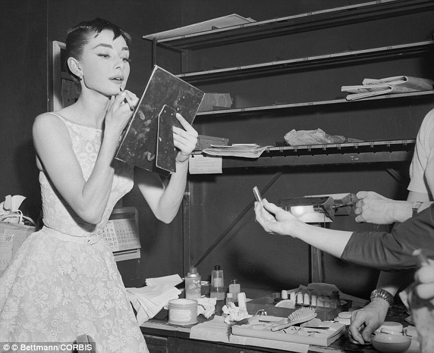 25 Mar 1954 --- Audrey Hepburn, Dutch born darling of American film, won a coveted Oscar for the Best Performance by an Actress for Roman Holiday