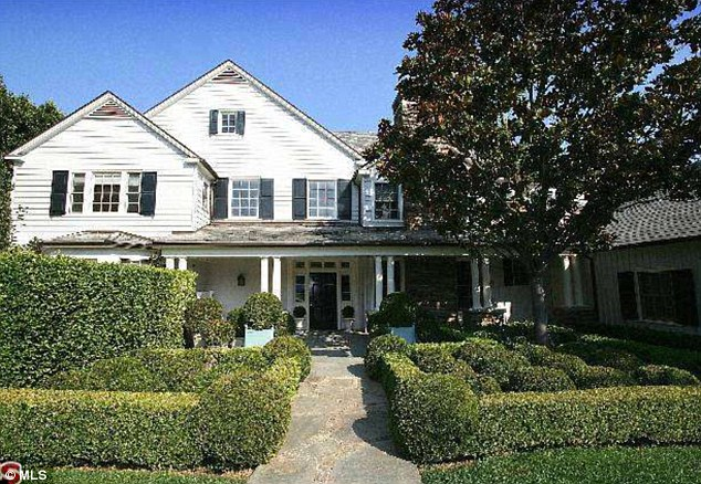 Dream home: With a net worth of $95m no wonder the Hollywood star decided to splash out