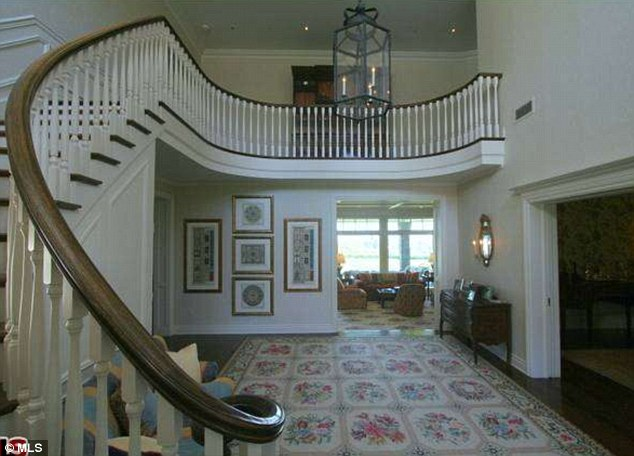 Stairway to heaven: After a hard day's work JJ will relish climbing upstairs to reach his master bedroom