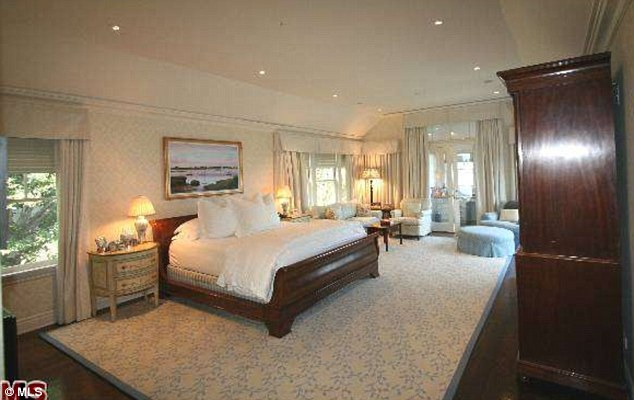 The entertainer: There will be plenty of space for over-indulgent party attendees as there are seven bedrooms