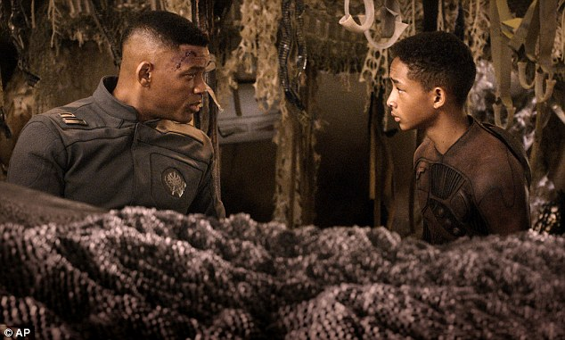 Double trouble: Will and Jaden Smith won big for their roles in the box office bomb After Earth