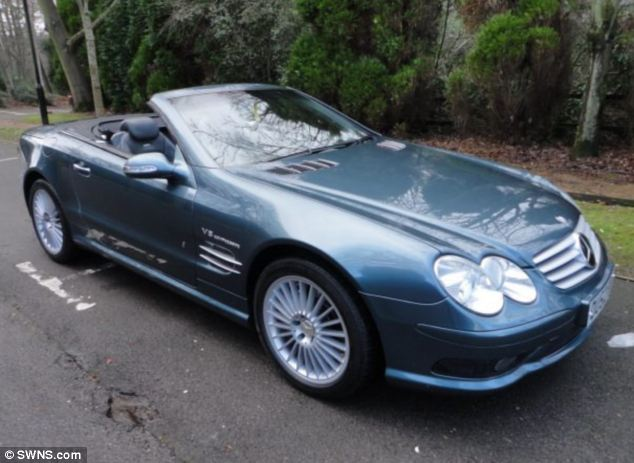 Car buyers looking for some Top Gear should look no further than this motor - Jeremy Clarkson's old Mercedes