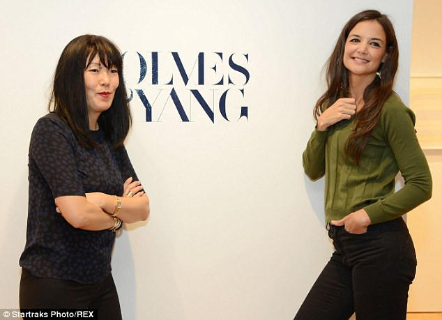 All over: Katie shut down her fashion label Holmes & Yang, ending her partnership with stylist Jeanne Yang, her publicists confirmed on Sunday