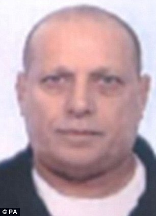 Suspected: Jeffrey Gordon, 54, is believed to be involved in the set-up and management of various boiler rooms. He has links to Romania, and possibly Colombia or Ireland, and his aliases are Jeffrey Darren Goodman and Michael Goodman