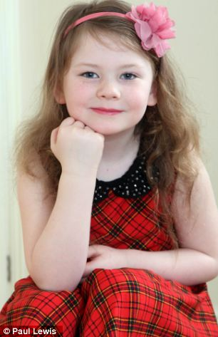 Allergy: Hollie Davies is allergic to the cold - meaning she is banned from swimming, playing outside in cold weather and even eating ice cream
