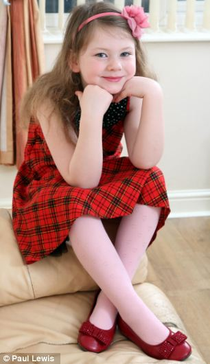 Hollie suffers from cold urticaria, which is thought to affect around one in 100,000 people.