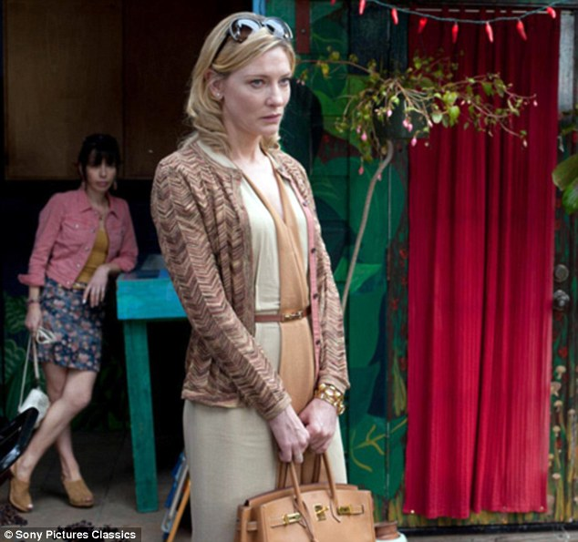 High praise: Cate Blanchett and Sally Hawkins in the drama Blue Jasmine, that received glowing reviews from critics