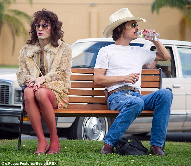 Starring roles: Jared Leto and Matthew McConaughey in Dallas Buyers Club