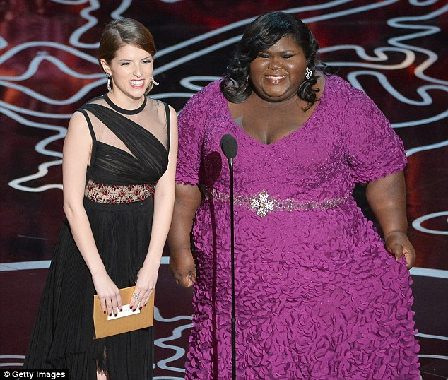 Cut it out! Anna Kendrick and Gabourey Sidibe arrived at the Oscars to present the award for Best Editing