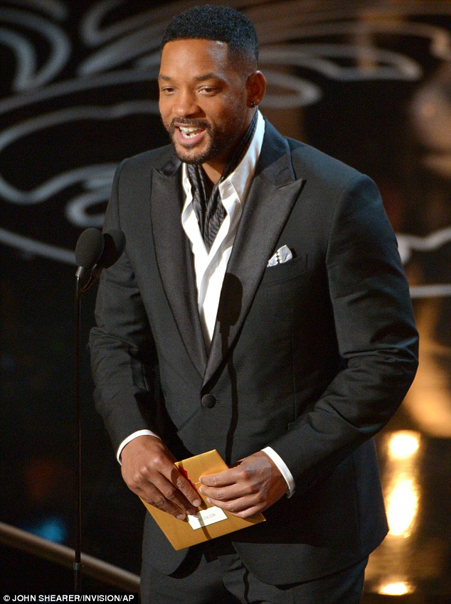 Don't mention The Razzies! Interestingly, After Earth star Will Smith was on hand to present the award for Best Picture