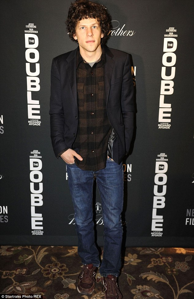 Birds and zombies: The 30-year-old actor, pictured here at the Sundance Film Festival on Jan. 17 in Utah, has appeared on the big screen in a bevy of films, including Zombieland and as the voice of Blu in Rio