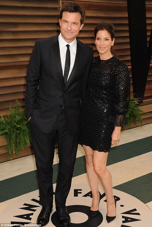 Goth they look nice! Jason Bateman and his wife didn't mess with a winning formula