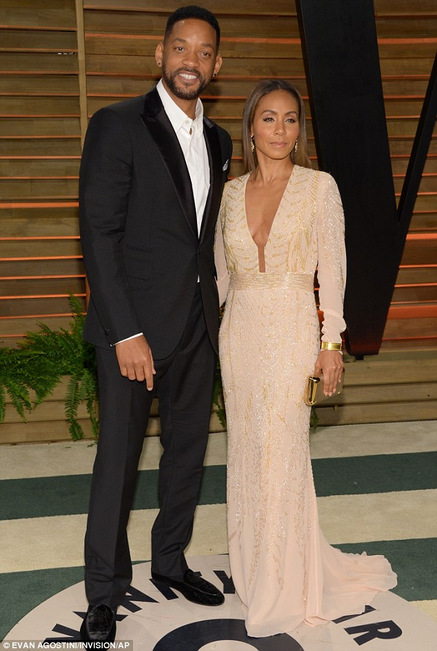 Change clothes and go: Will Smith and wife Jada Pinkett-Smith switch into different outfits