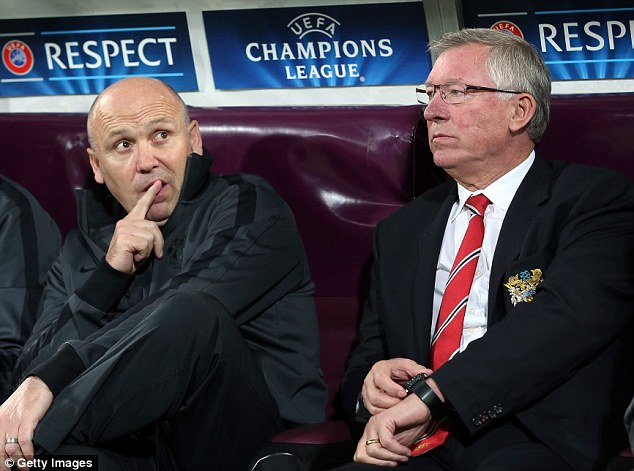 Dynamic duo: Sir Alex Ferguson's former assistant at Manchester United Mike Phelan (left) believes its important that the Red Devils qualify for Europe next term