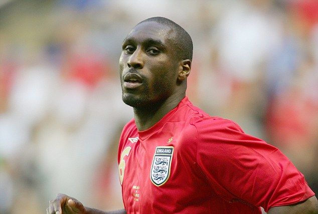 Upset: Campbell wore the captain's armband for England three times, but he feels it could have been more