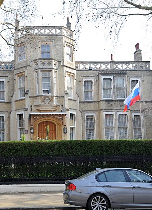 The Embassy of the Russian Federation in Kensington