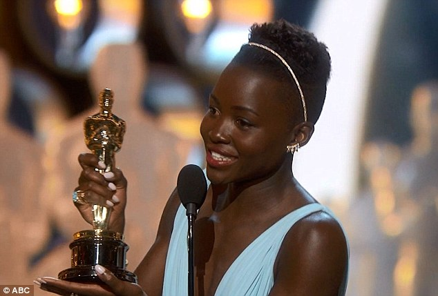 'Yesssss ! This win has been the joy of my life' - the star of the show, Lupita Nyong'o, winner of the Best Supporting Actress also made the night's sweetest speech