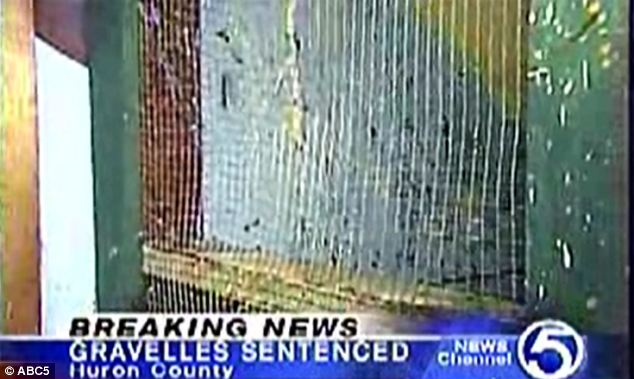 Confines: The adoptive parents claimed that the children were locked up because they were dangerous