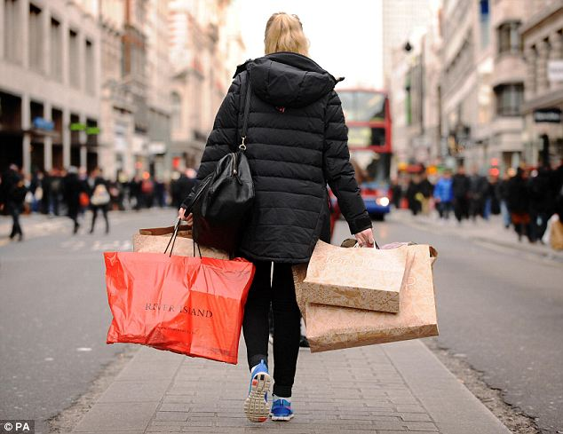 Reform: MPs called for a wholesale review of business rates which they said were killing off Britain's high street retailers