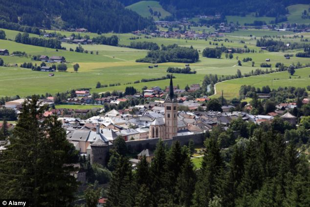 The coach had reportedly turned up late to collect the party of 51 ten-year-olds from the ski resort of Radstadt (pictured)