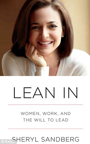 Earning her spot: Facebook COO Sheryl Sandberg, 44, is one of the youngest self-made billionaire women and a new entry onto this year's lis. She also penned 'Lean In' - a manifesto for women working their way up the corporate ladder (left)