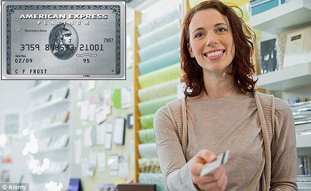 Added perks: American Express has launched a new credit card offering 0 per cent on purchases for 16 months as well as 1.25 per cent cashback on your spending.