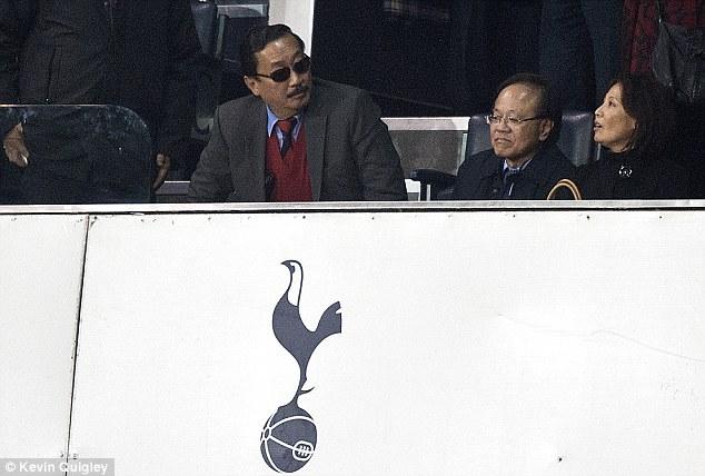 Escape: Vincent Tan looks set to avoid Premier League sanction after offering illegal bonuses to his players