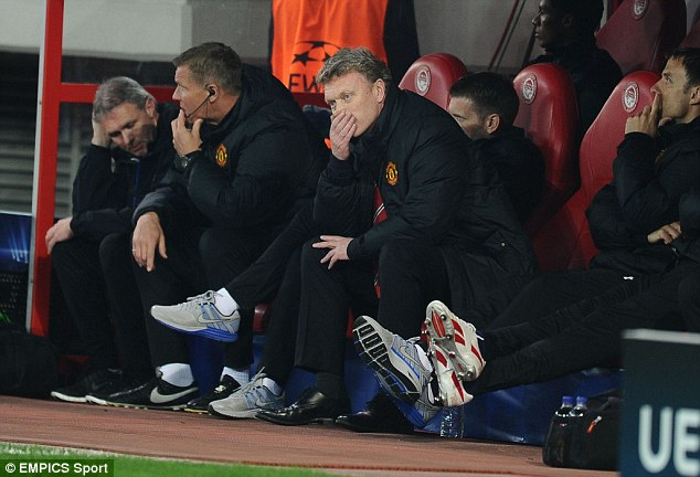 Where did it all go wrong? David Moyes has endured a torrid time as Manchester United manager