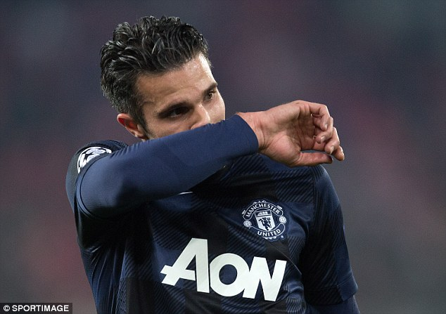 Unsure: The immediate future of Dutch striker Robin van Persie is up in the air